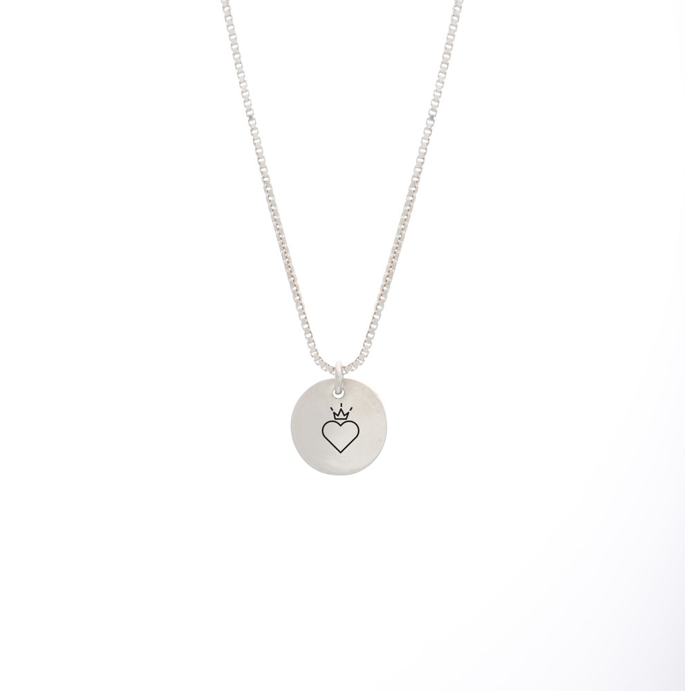Image of Valentines Queen Small Necklace