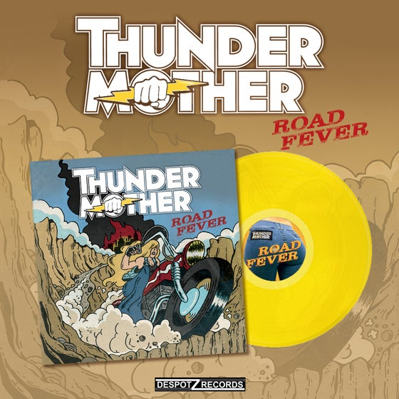 Image of Thundermother - Road Fever (Yellow Limited LP)