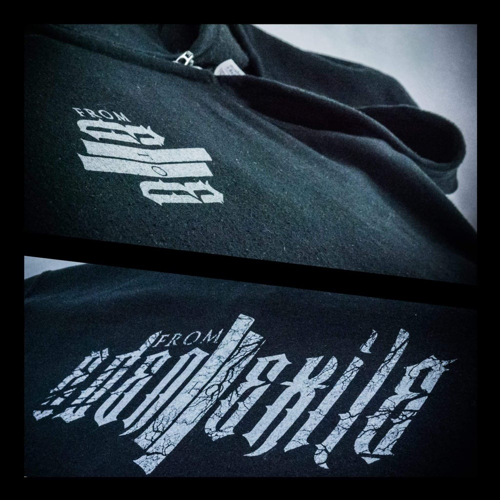 """Image of Black """"From Eden To Exile"""" Hoodie"""