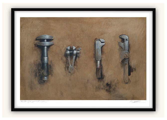 Image of 'Impermanence V (Four Hand Tools)'
