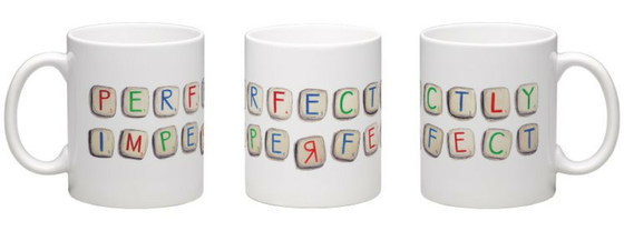 Image of Perfectly Imperfect - Wraparound Mug