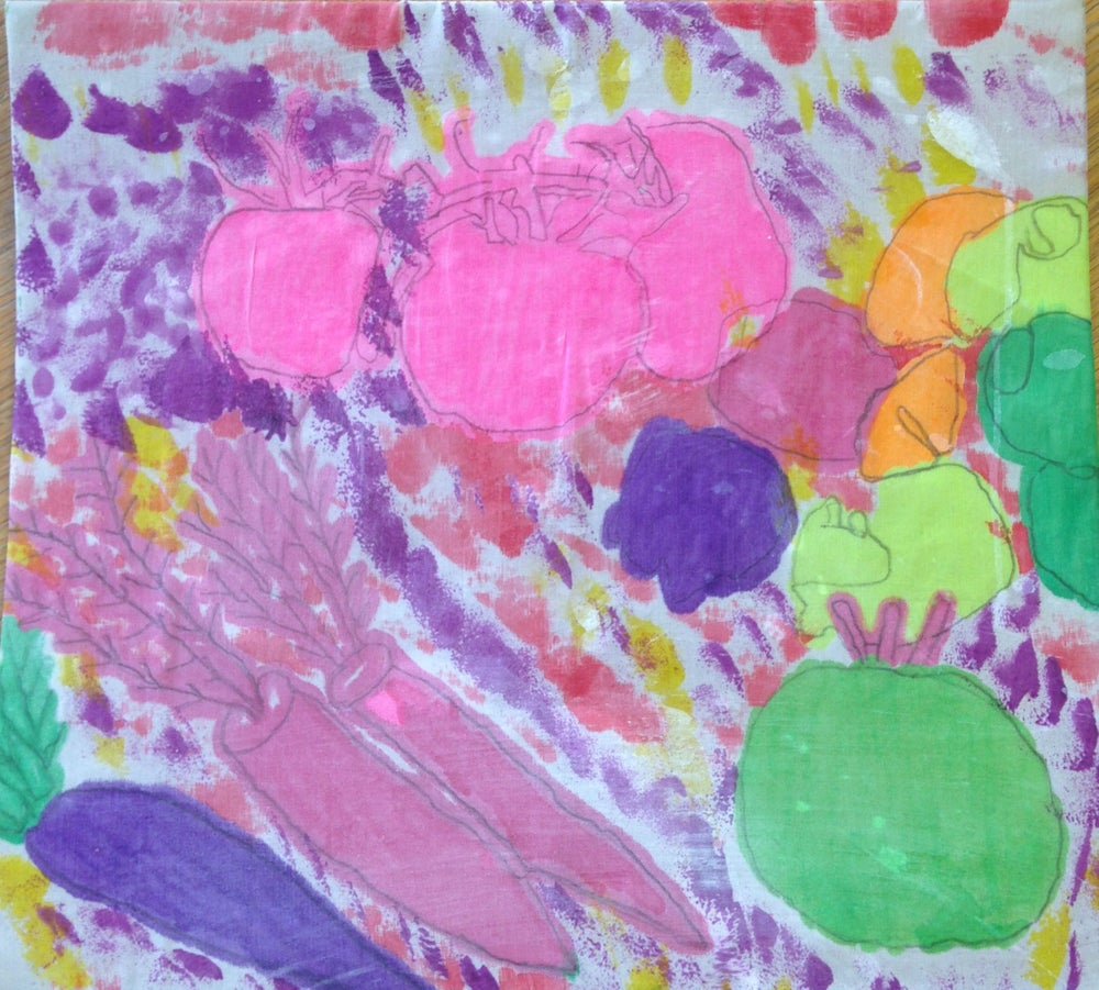 Image of Pastel Allotment by Gary