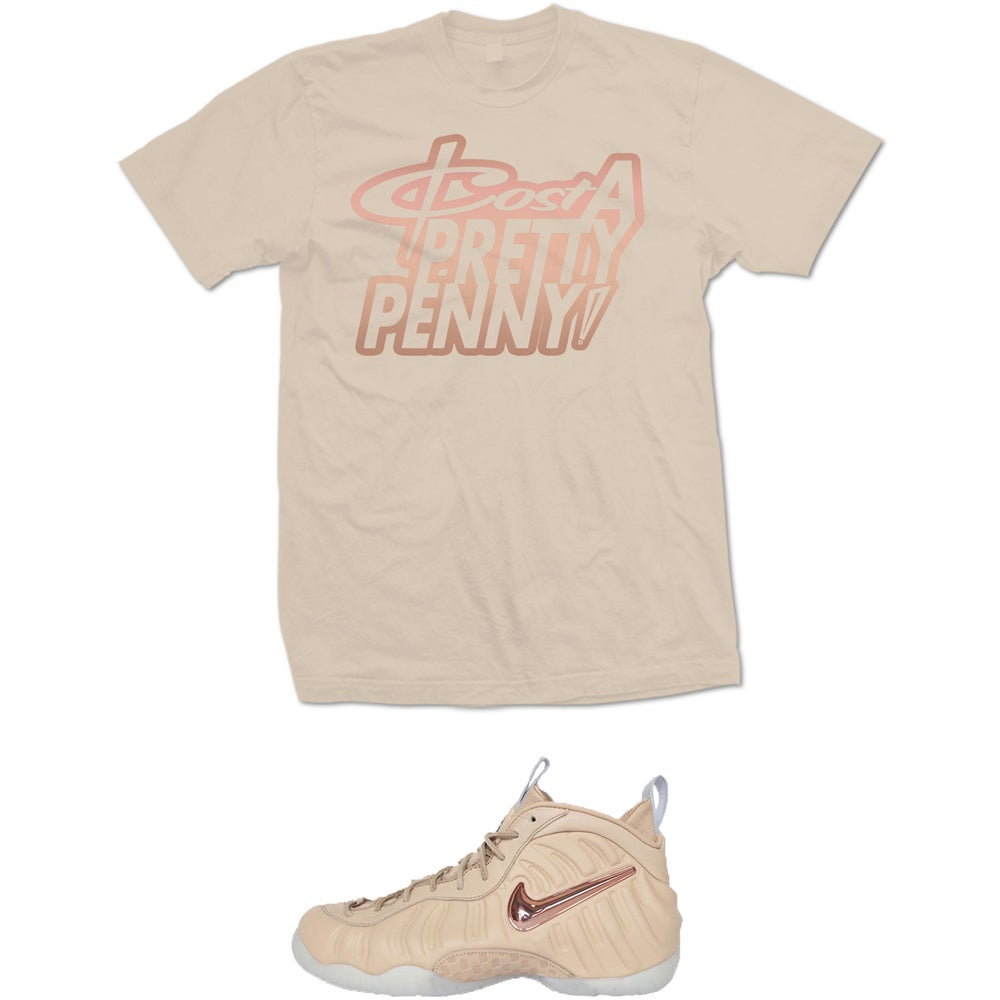 Image of COST A PRETTY VACHETTA TAN FOAMPOSITE T SHIRT - TAN