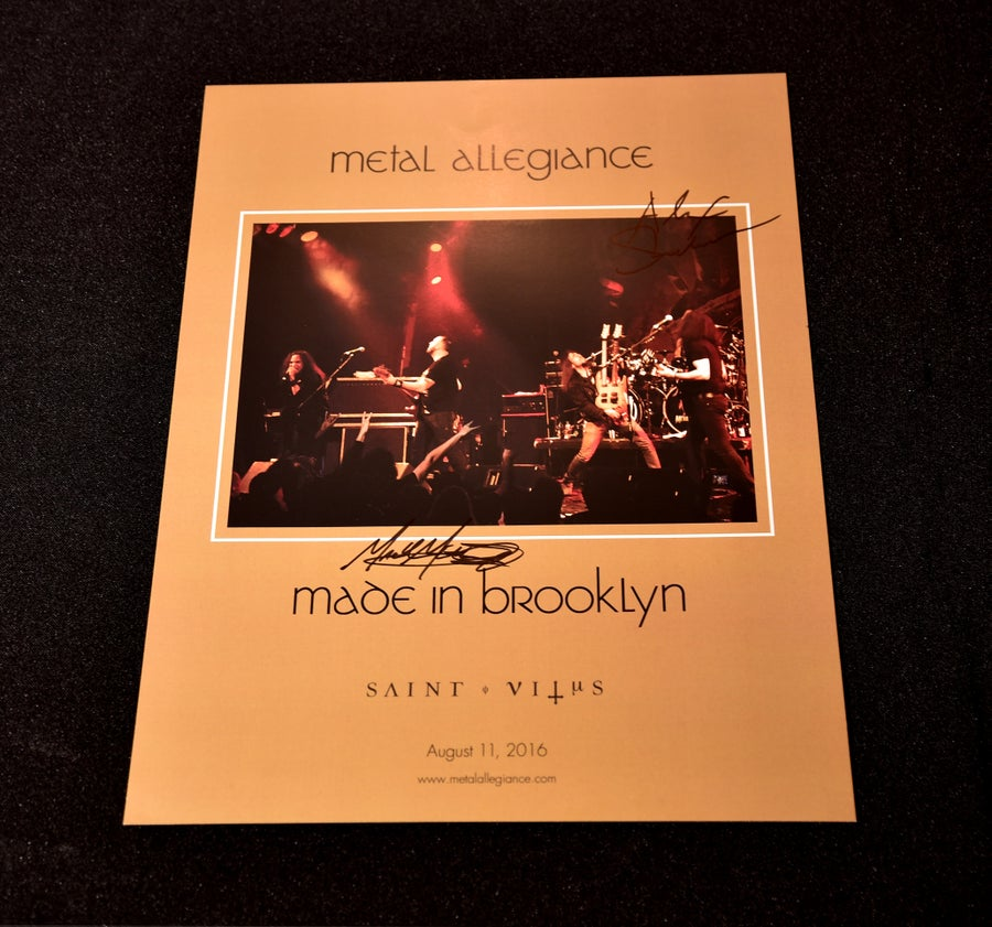 Image of Made in Brooklyn Signed Saint Vitus Show Poster