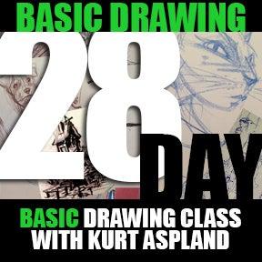 Image of 28 Day Basic Drawing Class