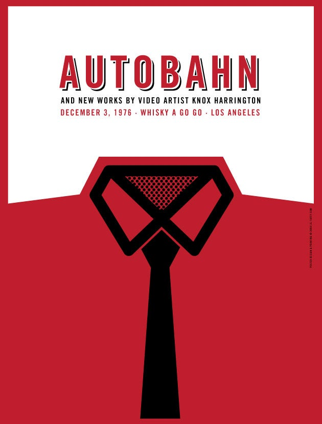 Image of Autobahn (The Big Lebowski) Art Print