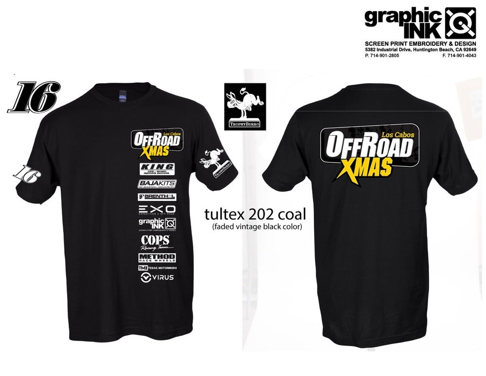 Image of Offroad Xmas Tshirt Limited Edition 2016