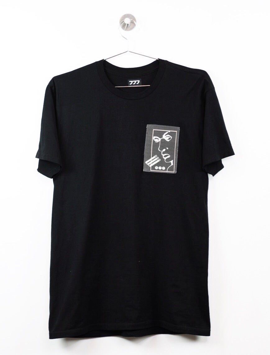 Image of VISION TEE - BLACK