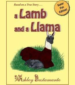 Image of A Lamb and a Llama-- Hardback