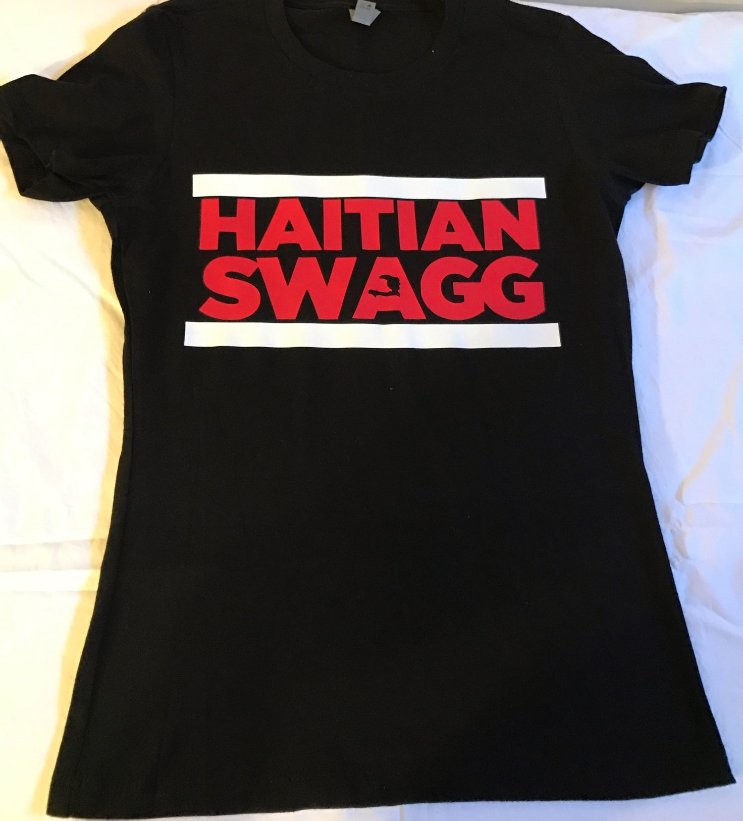 Image of Haitian Swagg white & Red (Women)
