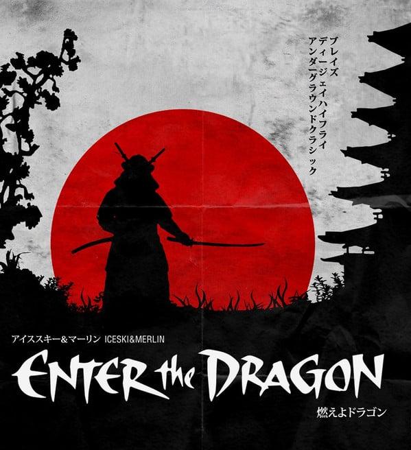 Image of Iceski&Merlin - Enter The Dragon EP