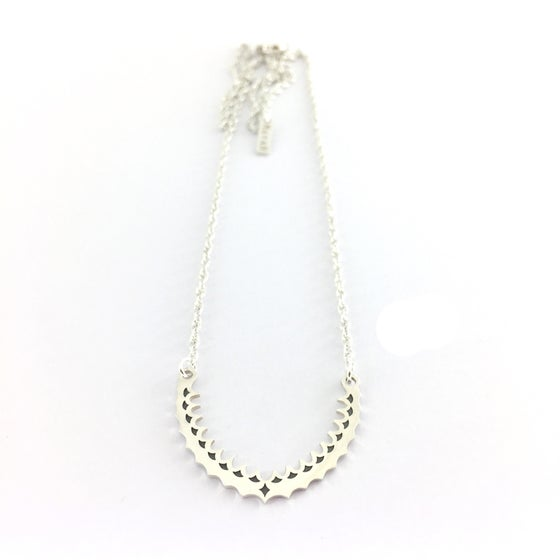 Image of Silver Arch Necklace