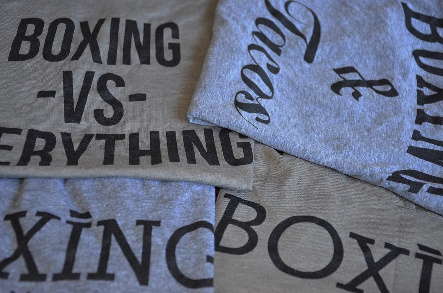 Image of Mens Boxing Vs Everything tees