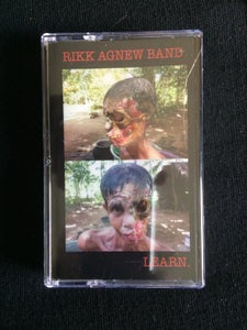 "Image of RIKK AGNEW BAND ""LEARN."" CASSETTE"