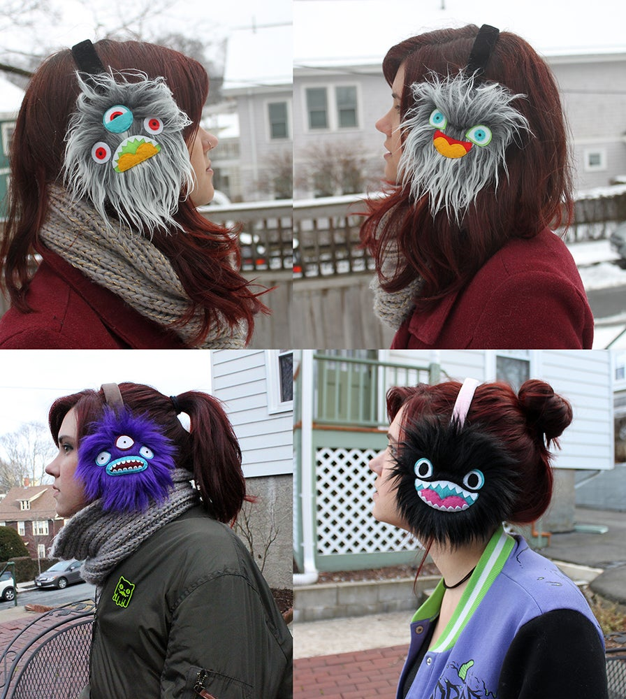 Image of Monster Earmuffs