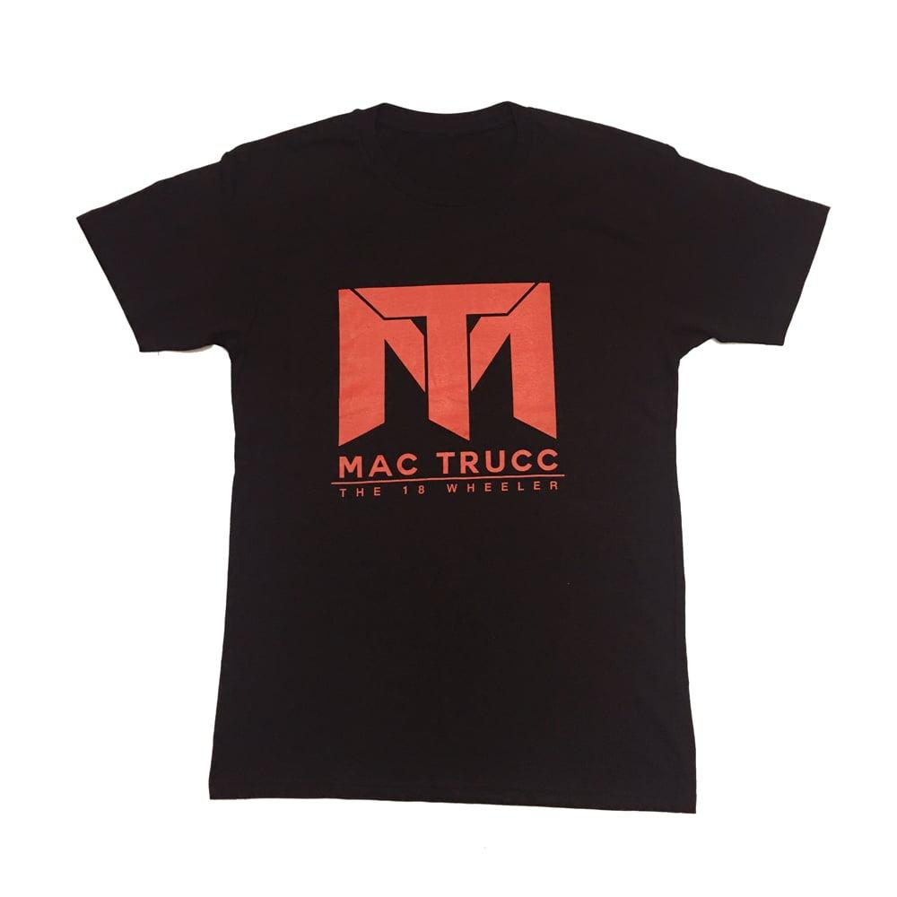 Image of MT Logo T (Black/Red)