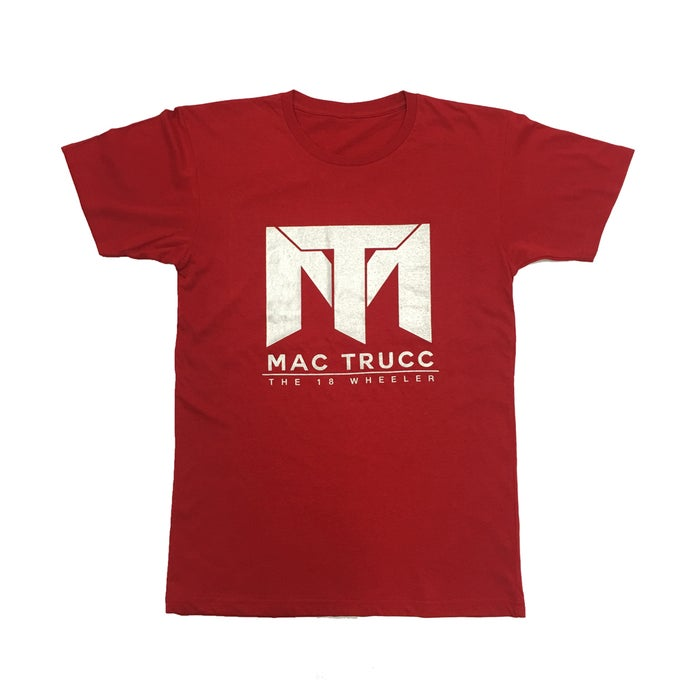 Image of MT Logo T (Red/Silver)