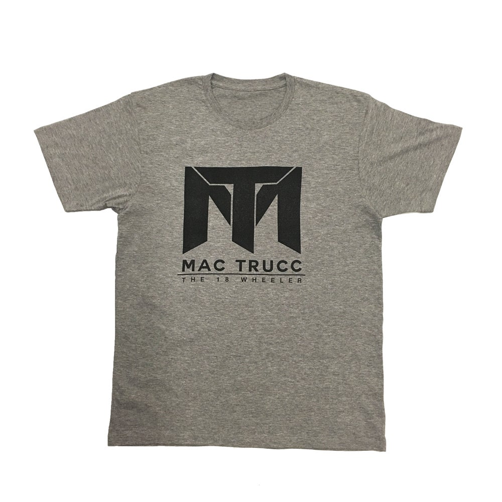Image of MT Logo T (Heather Gray/Black)