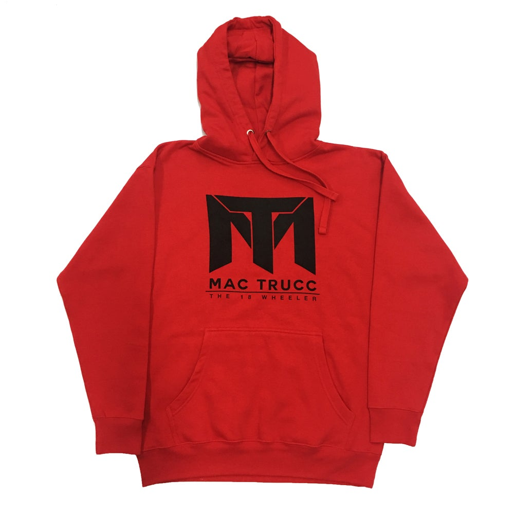 Image of MT Logo Hoodie (Red/Black)