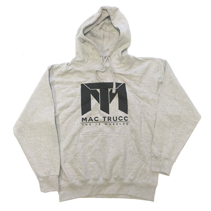 Image of MT Logo Hoodie (Heather Gray/Black)