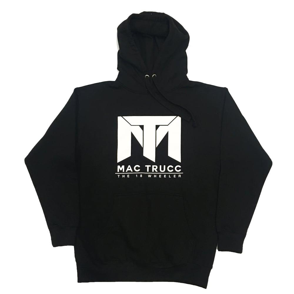 Image of MT Logo Hoodie (Black/White)