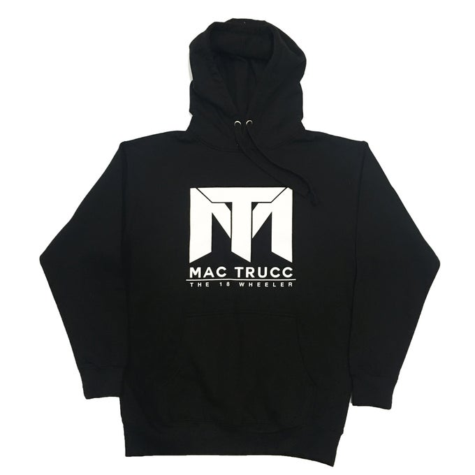 Image of MT Logo Hoodie (Black/White)