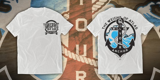 Image of Anchor Tee - WHITE - Limited Stock.