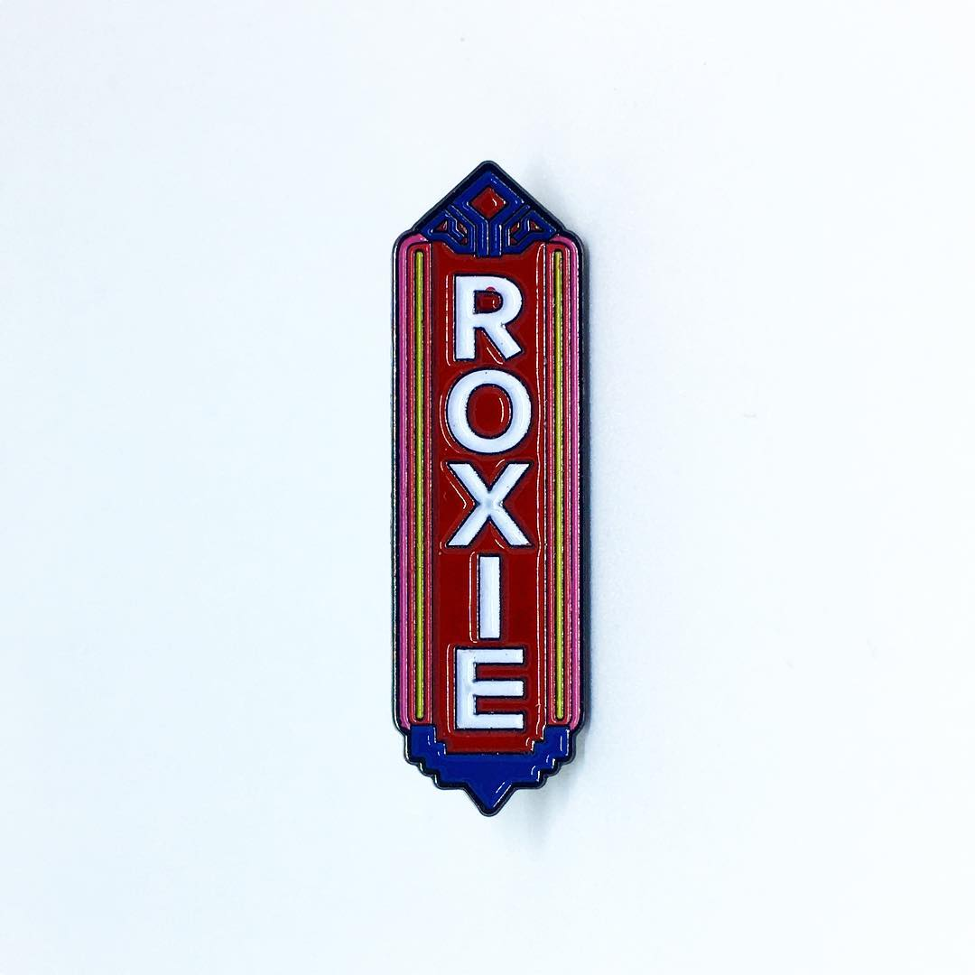 Image of Roxie Theater pin