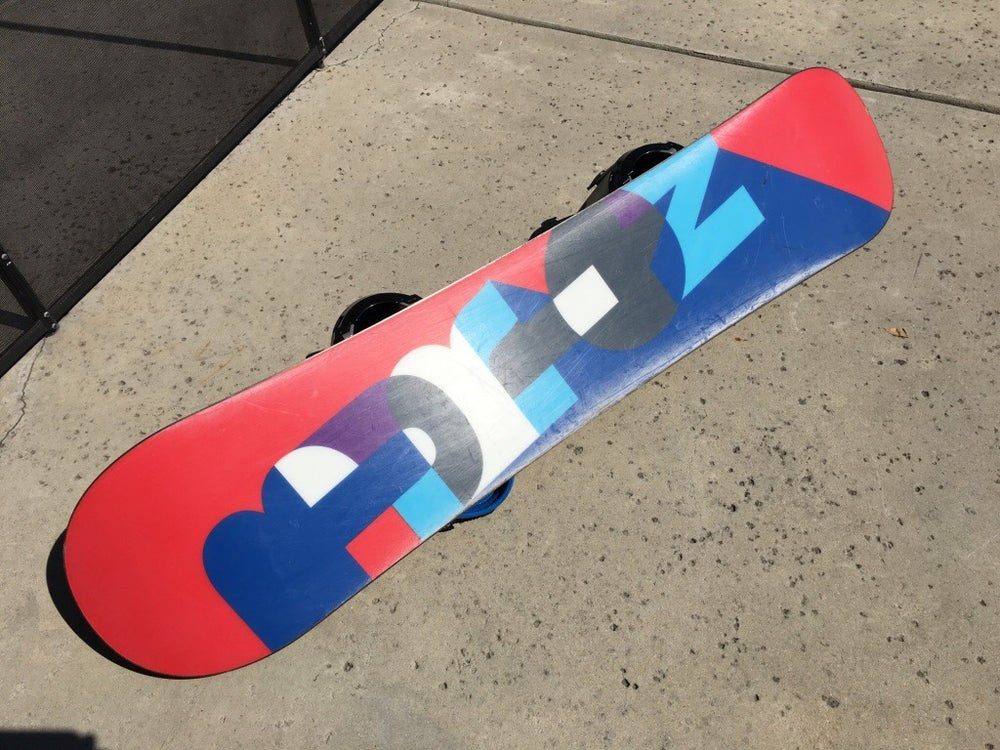 Image of Burton Hero Wide V-Rocker 134 Snowboard w/Progression med Bindings