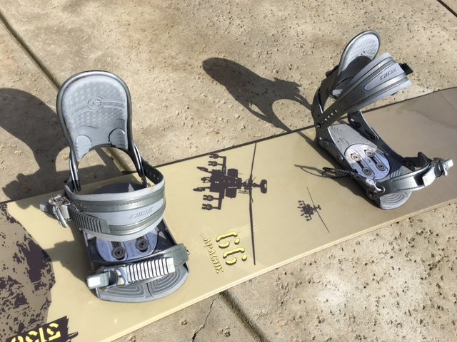 Image of 5150 Apache Big 166 Snowboard with Ride xlrg bindings