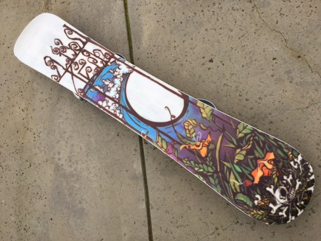 Image of Lib Technologies MC 156 Snowboard w/Large Rossignol Bindings