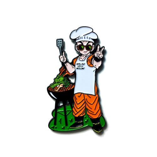 Image of Grillin with Krillin' Pin
