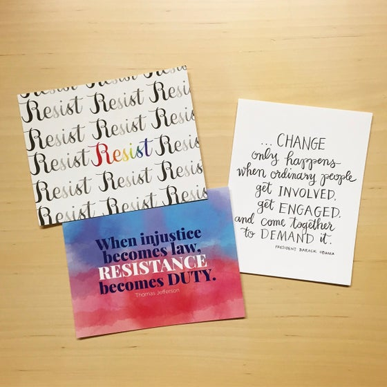 Image of action postcards (pack of 12)