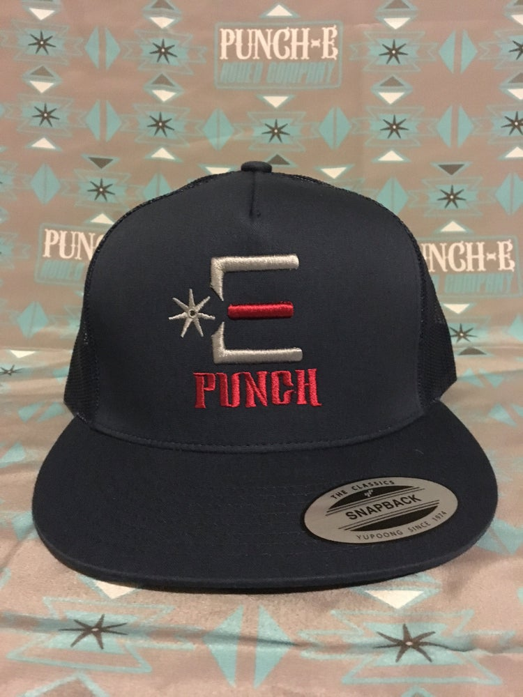 Image of Punch-E Logo (Navy)