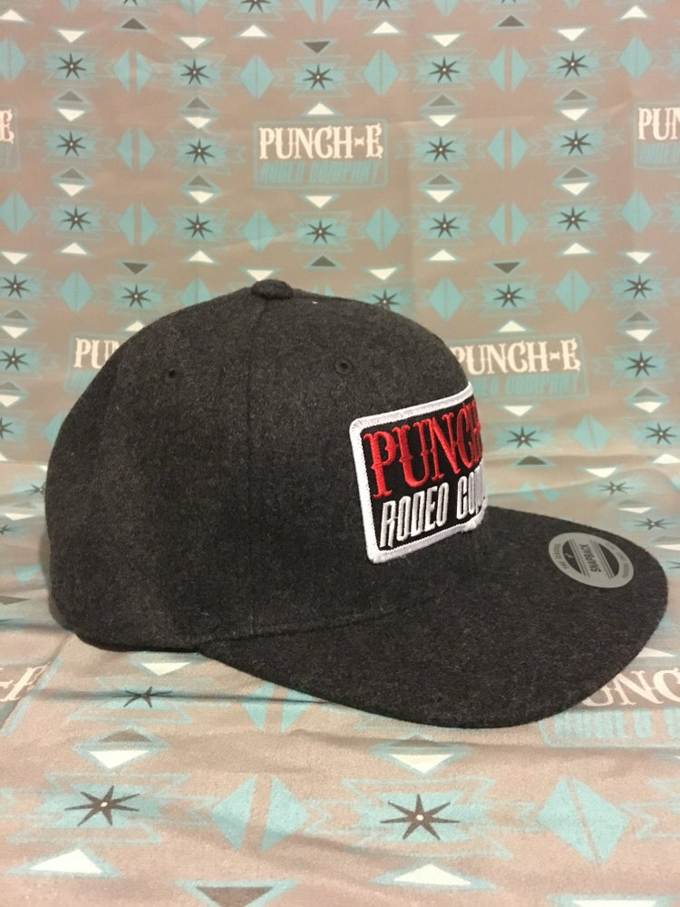 Image of Punch-E Patch (wooly) Dark Grey