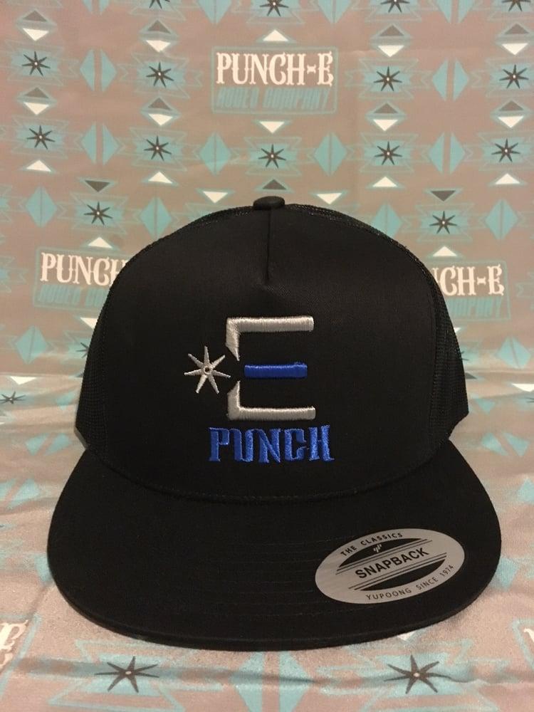 Image of Punch-E Logo (Black)