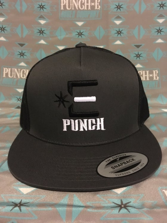 Image of Punch-E Logo Charcoal/Black