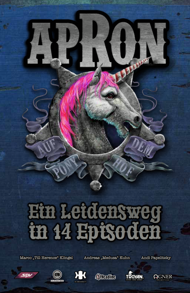 "Image of apRon ""Ein Leidensweg in 14 Episoden"" Das Heft"
