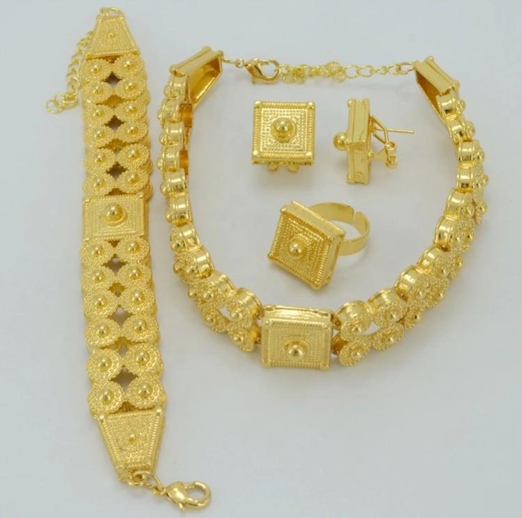 Image of Wedding Choker Gold