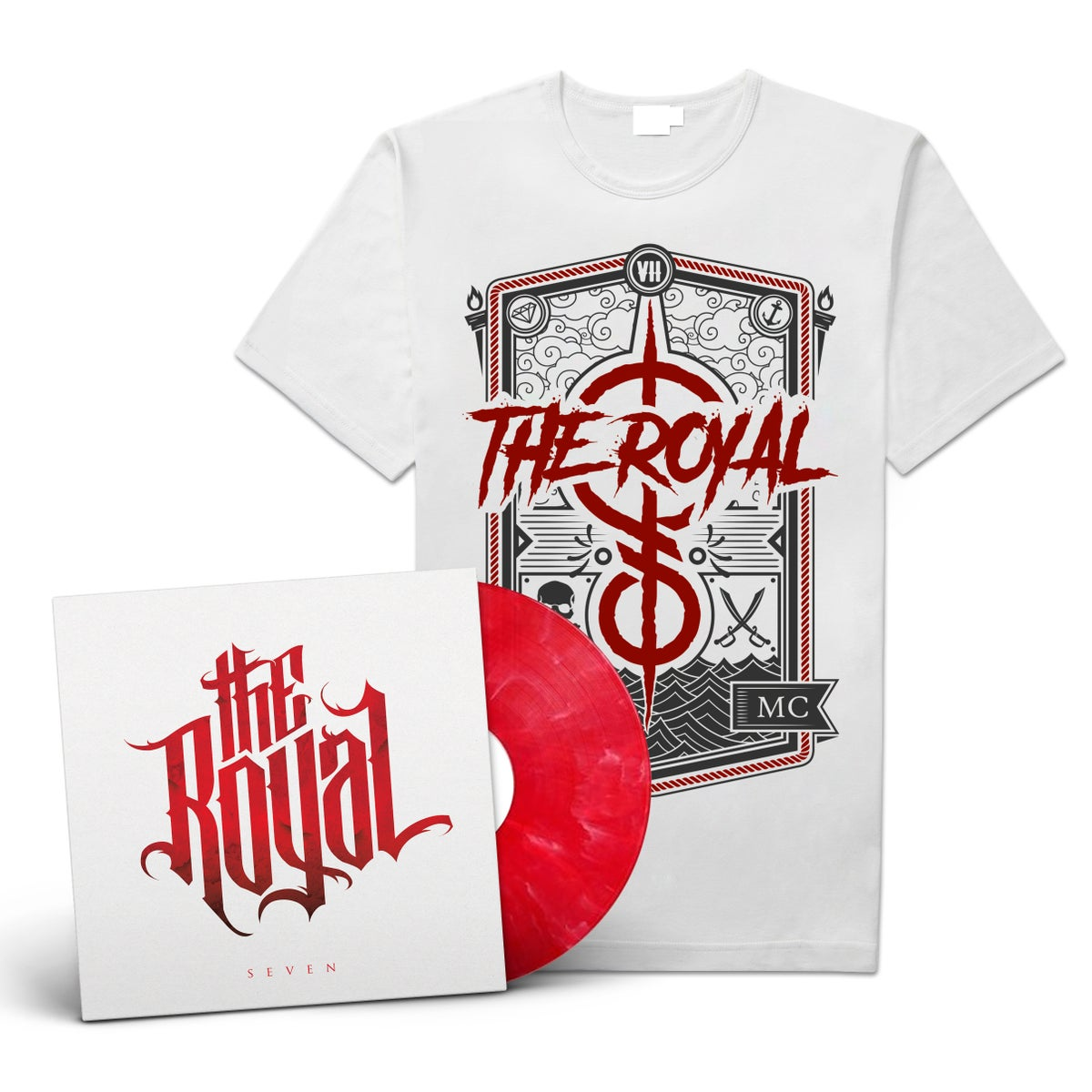 "Image of The Royal ""Seven"" LP-Bundle #2"