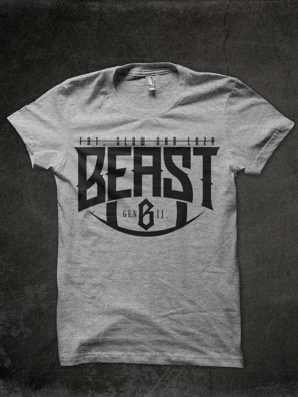 Image of BEAST, not fat nor lazy.