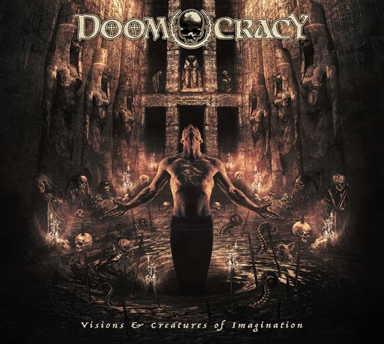 Image of DOOMOCRACY - VISIONS & CREATURES OF IMAGINATION CD