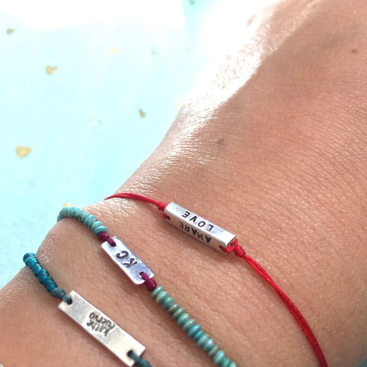 Image of The love bracelet