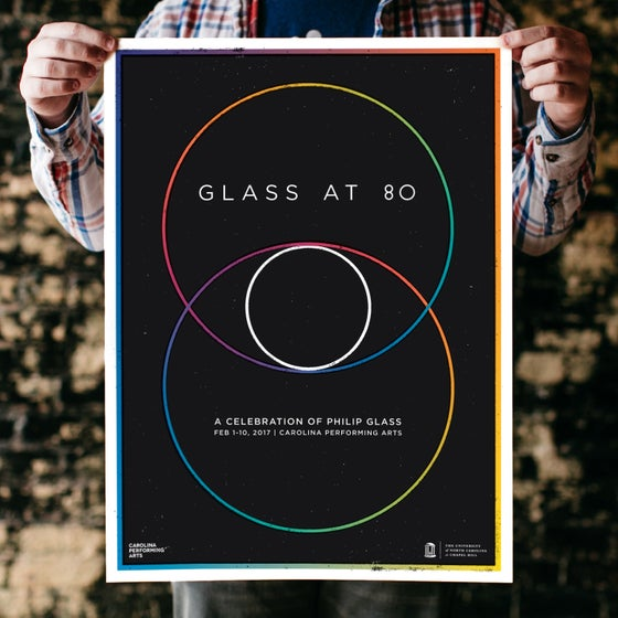 Image of Glass at 80 Festival Poster
