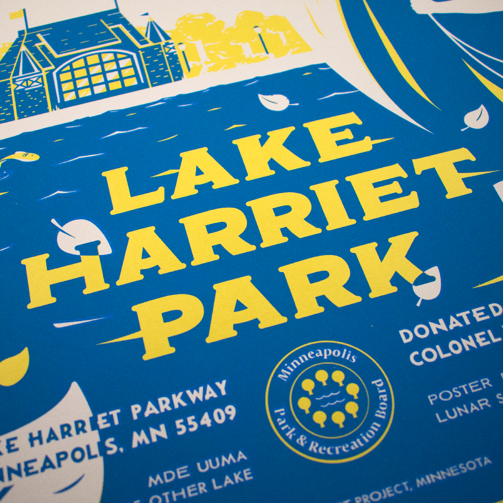 Image of Lake Harriet Print