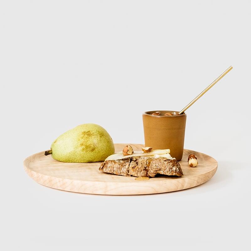 Image of Large Maple Hardwood Plate