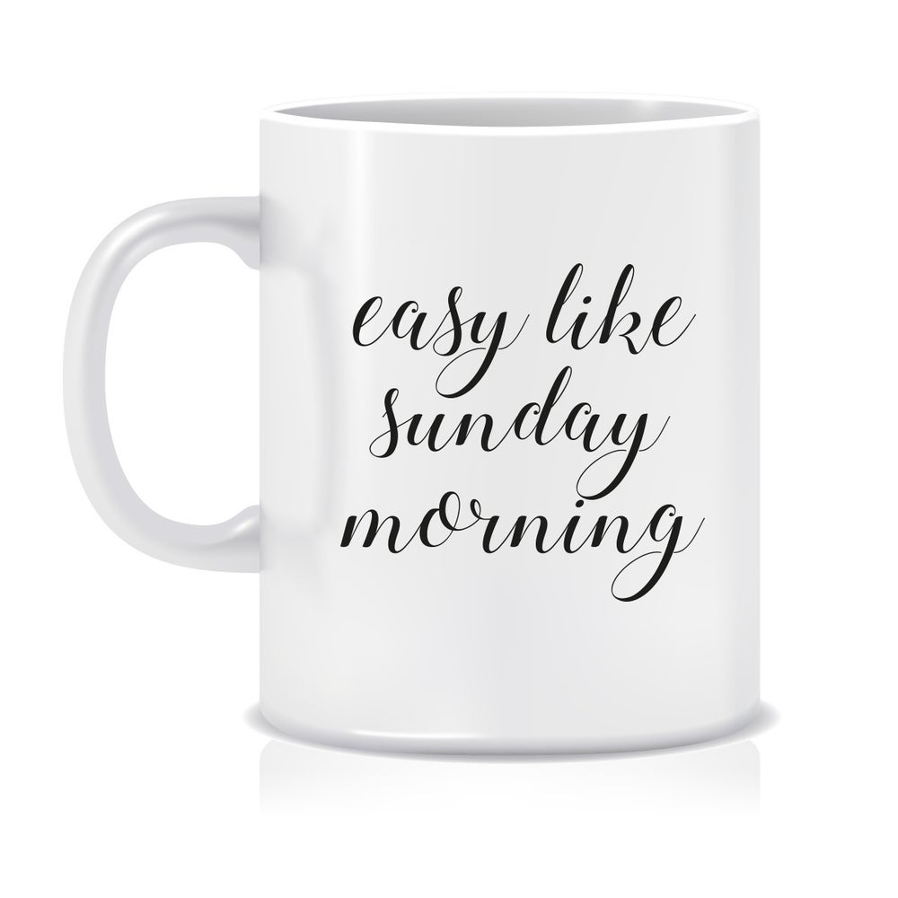 Image of Easy like Sunday morning mug