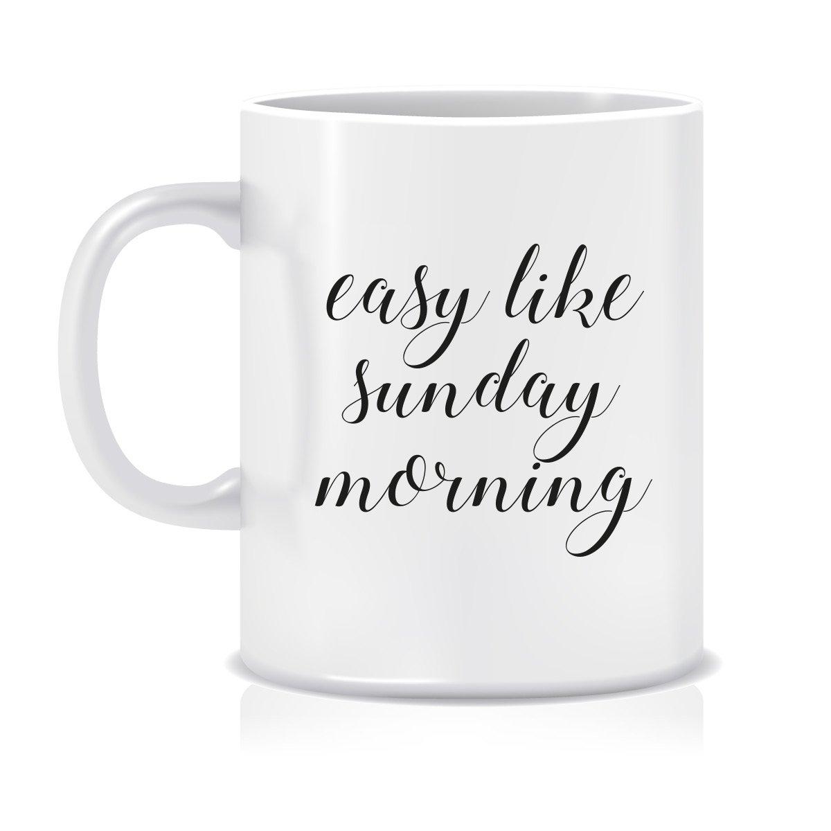 Image of Easy like Sunday morning mug