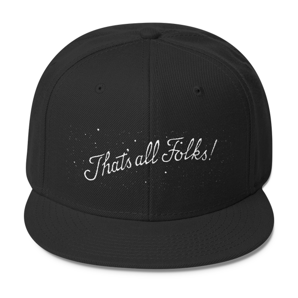 Image of That's all Folks! hat