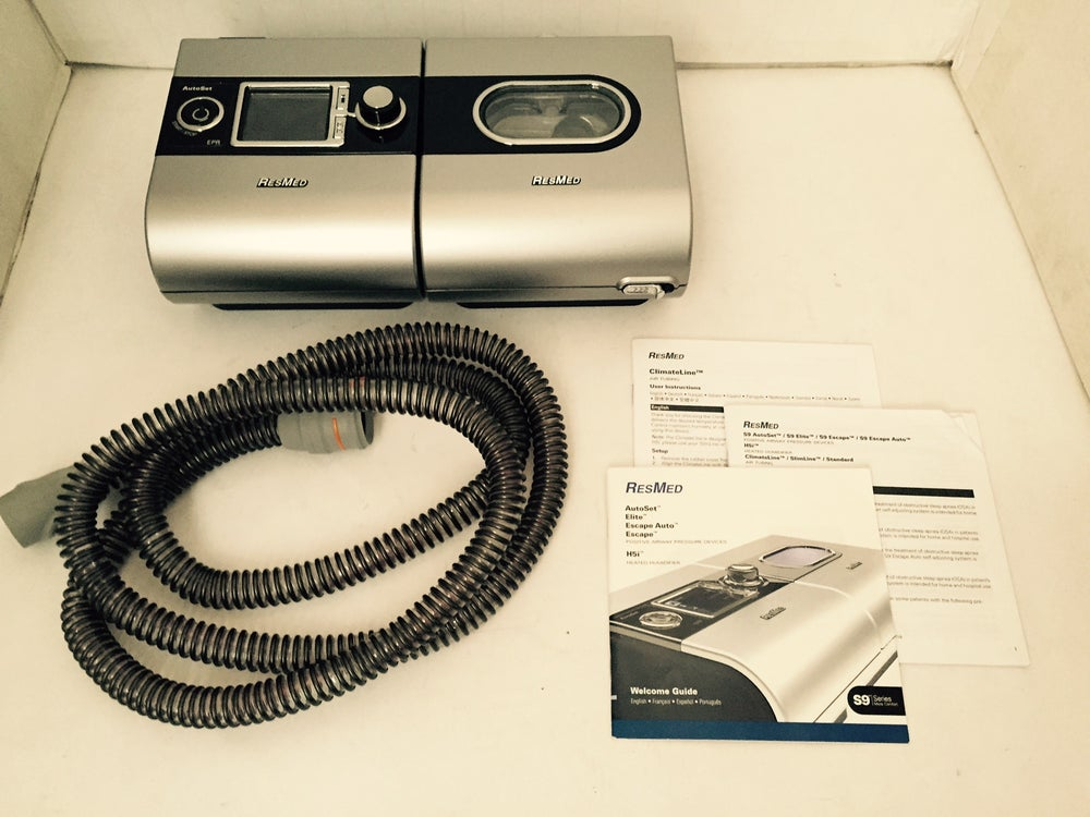 Image of Respironics ResMed S9 AutoSet CPAP with H5i Heated Humidifier